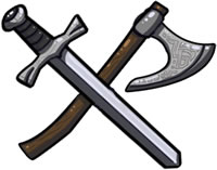 Weapons: Sine the first chipped-flint knife, magic has imbued the instruments of war
