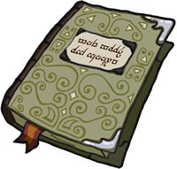 Book: a magical tome, packed with forgotten lore